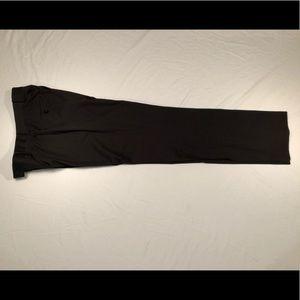 Black Men's Slim-Fit Dress Pants